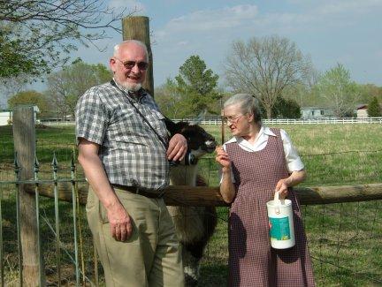 Bob and Pauline Bedard