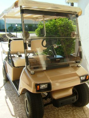 New to us golf cart