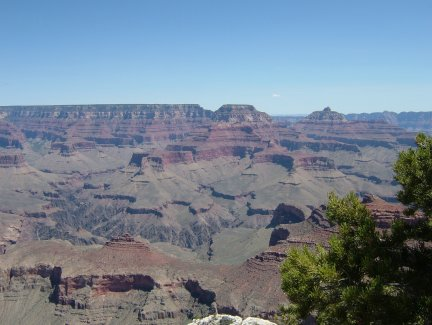 The east end of the Grand Canyon