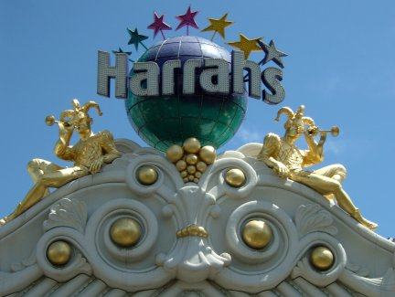 Harrahs (just one of the many lovely hotels)